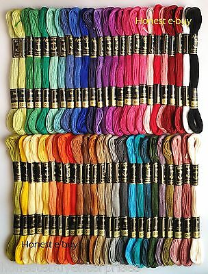 "50 Anchor Cross Stitch Cotton Embroidery Thread Floss/Skeins ""SET-3"" ""BEST DEAL"""