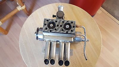Tether Boat 2 Cycle Engine /model Car Engine