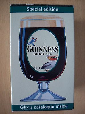 Glass Guinness Collectable Special Edition Gilroy Classics Goblet New & Boxed