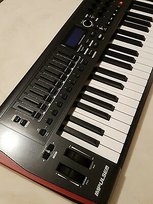 Novation Impulse 49 note USB Midi Keyboard Controller unused