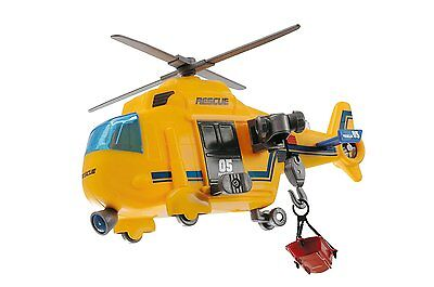 Dickie Spielzeug Rescue Copter Rettungshelikopter Hubschrauber Kinder Helicopter