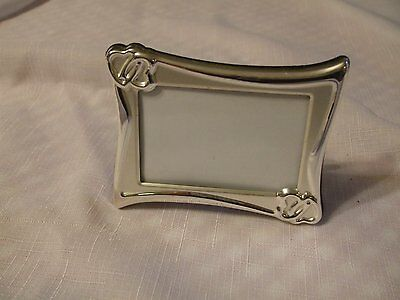 """Lenox Silver Plate Picture Frame, 4"""" x 3"""""""