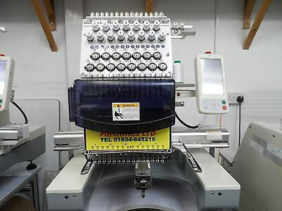 single head 15 needle cheap embroidery machine