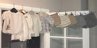Zara Baby Girls Winter Shorts And Top Bundle Great Condition Age 18-24m