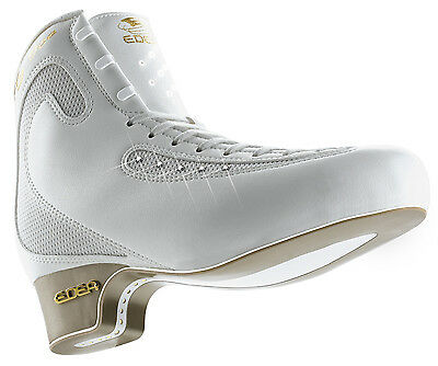 Edea Ice Fly junior Figure Skates White BOOT ONLY - Free Postage