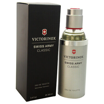 Swiss Army Classic Victorinox Cologne for Men 3.4 oz EDT Spray New in Box