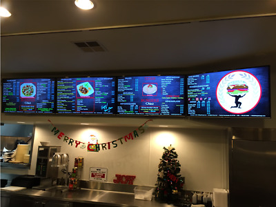 "4 Device ""DMB"" Digital Menu System for Restaurants - GREAT BUSINESS OPPORTUNITY!"