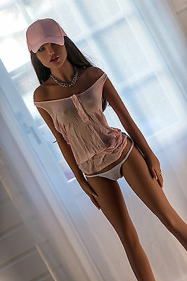 158cm Tan Silicone Sex Fashion Doll Realistic Lifelike Real Love Toy For Male