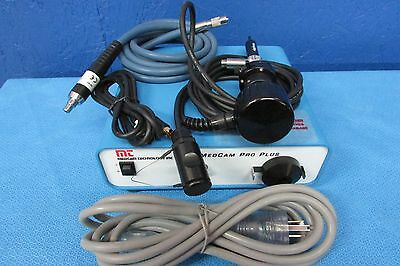 Medcam Technology Pro Plus self contained  endoscopic video camera complete set