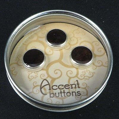Bach Silver Trumpet Buttons by Noteworthy Music Products Brazilian Rosewood NEW!