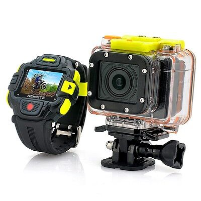 Full HD Action Camera (Eyeshot) with Wi-Fi and Watch Remote Control
