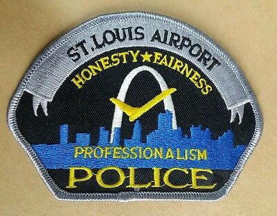 St Louis, Missouri Airport Police Professionalism Shoulder Patch Mo