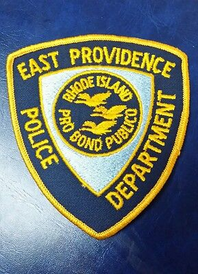 East Providence, Rhode Island Police Shoulder Patch Ri