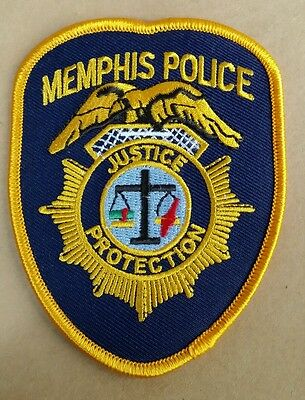 Memphis, Tennessee Police Shoulder Patch Tn