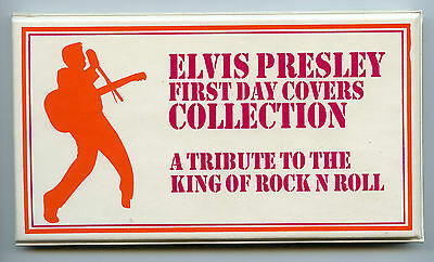 Weeda USA 2721 Set of 3 Elvis FDCs in souvenir folder, different cachets