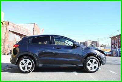 2016 Honda HR-V EX-L AWD 4WD Navigation Remote Start Repairable Rebuildable Salvage Wrecked Runs Drives EZ Project Needs Fix Save Big