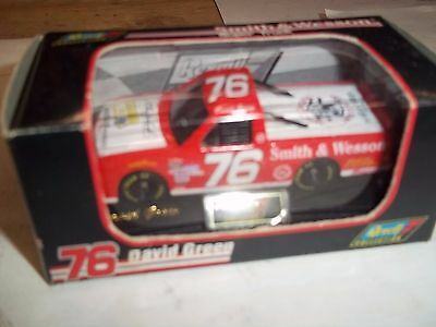 1996 Revell David Green Smith And Wesson Super Truck Matchbox Size Nib