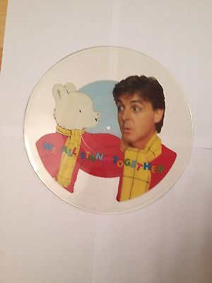 """Paul McCartney and the Frog Chorus 7"""" Uncut Picture Record"""