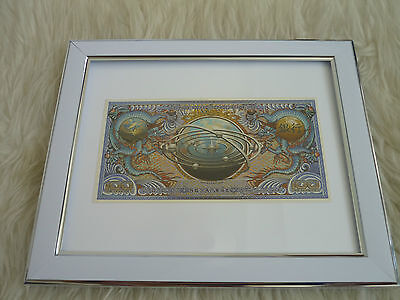 Firefly Serenity Bank Robbery Money Lootcrate exclusive Framed 100c Mounted