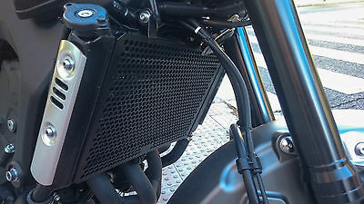 Yamaha XSR900 Radiator Guard Rad Cover 2016, Stainless Steel..
