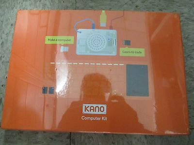 NEW IN BOX! Computer Kit Kano Kids Learning Build Code - 1000G-02 FREE SHIPPING