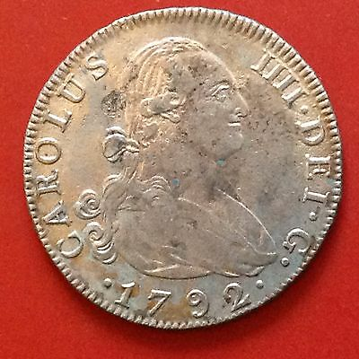 SPAIN 1792  4 Reales Coin