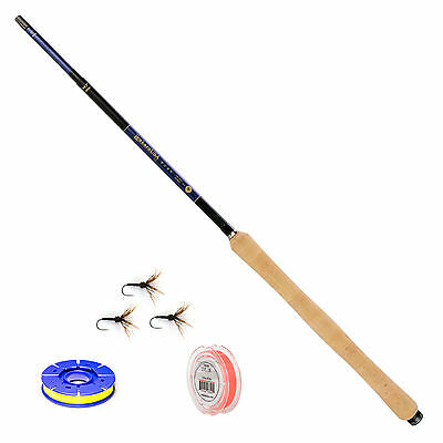 Tenkara USA ITO 13-14ft 7in. Zooming Fly Rod And Level Line Fishing Outfit