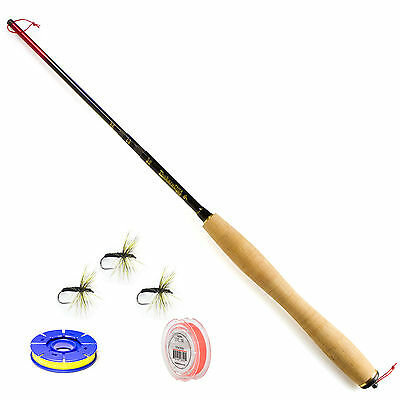 "Tenkara USA Rhodo 8'10"" to 10""6"" Telescoping Fly Rod and Level Line Outfit"