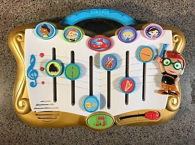 Disney Little Einsteins Musical Symphony Composer Electronic Talking Toy Works