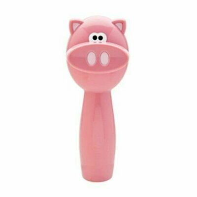 Piggy Wiggy Oink Pig Themed Safety Can Lid Manual Opener - Joie MSC Smooth Edge