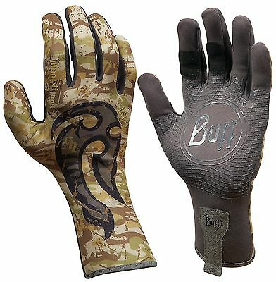 Buff Sport Series MXS Gloves Fly Fishing Cold Weather Gear Maori Hook X/S NEW