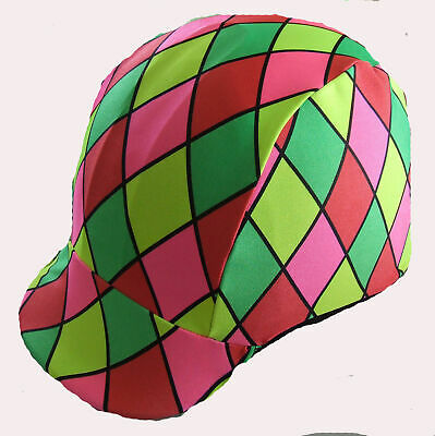 Ecotak bright diamonds lycra helmet cover Ecotak