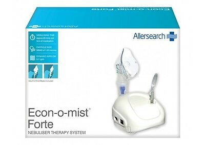 CHEAPEST! Allersearch Econ-O-Mist Forte Nebuliser