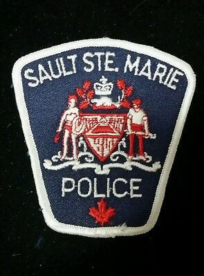 Sault Ste. Marie, Canada Police (Small) Patch