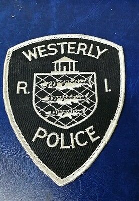 Westerly, Rhode Island Police Shoulder Patch Ri