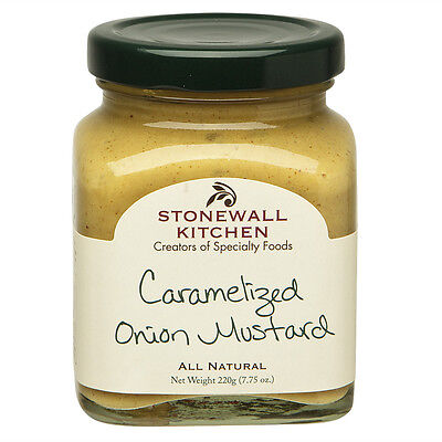 NEW Stonewall Kitchen Caramelised Onion Mustard