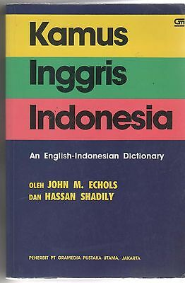 Kamus Inggris Indonesia English to Indonesian with thumb Index paperback