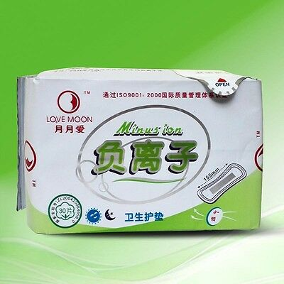 Comfortable Anion Lady Menstrual Pads Panty Liner Sanitary Napkin Private Effect