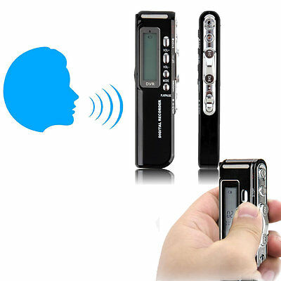 8GB 650Hr USB LCD Screen Digital Audio Voice Recorder Dictaphone MP3 Player AO