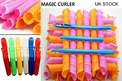 Hair Curlers Circle Spiral Styling Tools Rollers Simply Convenient Hair Hooks UK
