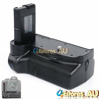 【AU】Vertical Battery Grip Holder Pack For Nikon D3100 D3200 D3300 DSLR Camera