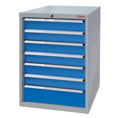 Stormax 7 Drawer Industrial Tooling Cabinet - Shipping Aust Wide