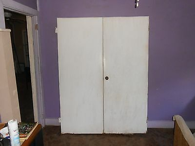 Vintage/Antique Interior Double Doors With Original HardWare