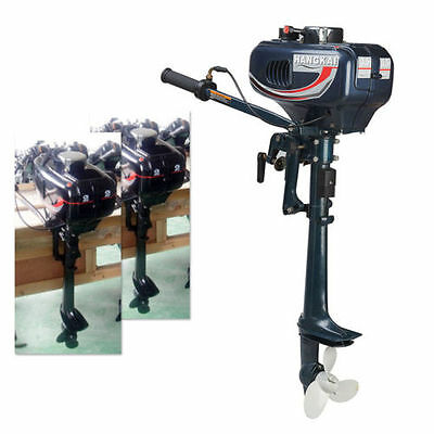 3.5HP 2.5kw Outboard Motor Fishing Boat Sail boats Engine 2-Stroke CDI System UK