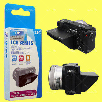JJC Protective LCD Hood Pop-Up Screen Cover for Sony A6500 A6300 A6000 Cameras