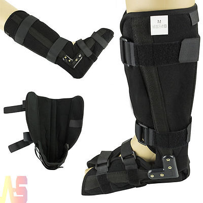 Universal Adjustable Walker Boot Fracture Brace Support Ankle Foot Sprain Injury
