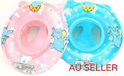 Baby Infant Swimming Pool Kids Seat Aid Trainer Float Tube Ring Inflatable Toy