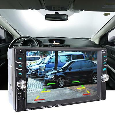 "2DIN 6.5"" HD In Dash Car Bluetooth Touch Screen USB TF Stereo MP3 MP5 FM Player"