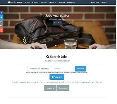 The Best Job search affiliate website for sale Make Money Online Work at Home