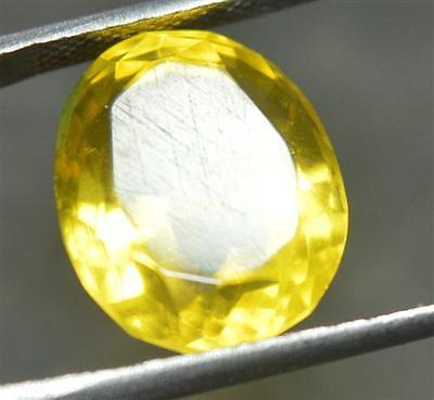 14.40 Ct Natural Heliodor Yellow Color GGL CERTIFIED OVAL SHAPE Loose Gemstone